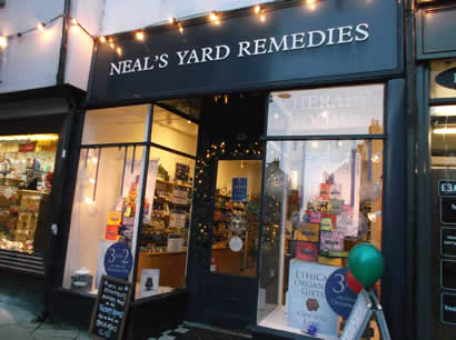 Neal's Yard  Is Open but…